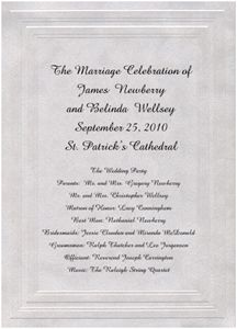 Wedding Ceremony on Pinterest  Wedding Programs Pew Bows