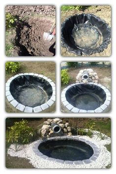 Upcycle An Old Tire Into A Jaw Dropping DIY Pond ! Ducks