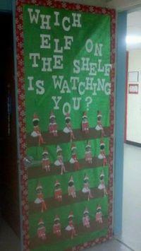 christmas+classroom+door+decorations   Run Teacher Run ...