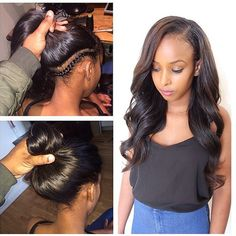 Your Sew In Hair Weave Should Be This Natural Looking And