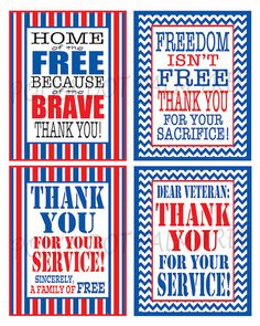 Free Printable Honor Our Armed Forces Cards Armed