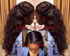natural versatile curly sew in is is cute i wonder if you cold do this with straight weave