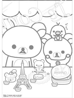 1000+ images about Crafty (Kawaii) Coloring on Pinterest
