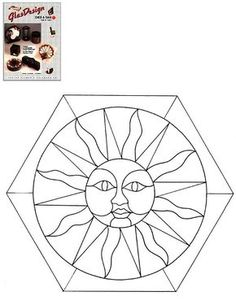 Coloring picture :Mosaic coloring pages 4,mosaic coloring