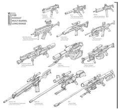 DSNG'S SCI FI MEGAVERSE: SCI FI GUNS, WEAPONS, HANDGUNS