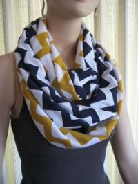 1000+ images about ChevronScarf - Handmade Infinity ...