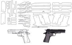 BLOW⇔BACK RUBBER BAND GUN 04.1 I.W.I DESERT EAGLE blowback