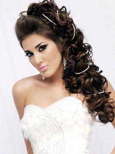 novias maquillaje y tocados on pinterest maquillaje pelo suelto and bodas