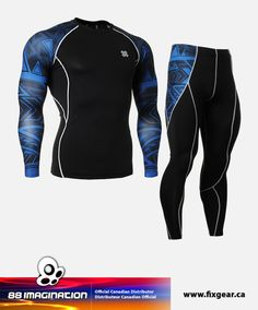 fixgear cpd pl b set compression base layer shirt legging pants