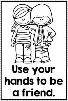 Kids Playing Blocks Coloring Page from TwistyNoodle.com