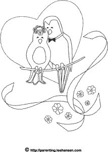 1000+ images about Wedding ~ Coloring Book on Pinterest