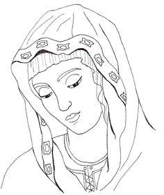 Catholic Coloring Page: Jesus Forgives Mary Magdalene