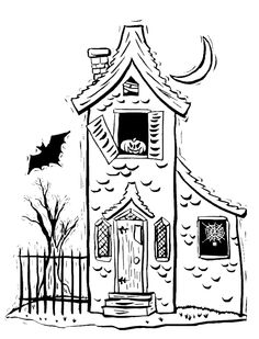 My Childhood Halloween Memories: Inspired this Haunted