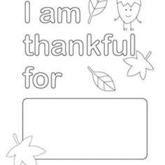 Printable Happy Thanksgiving border. Use the border in