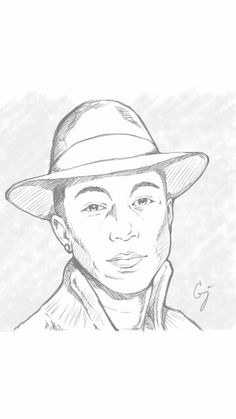 Bruno Mars by Diwas {from India} ~ pencil portrait