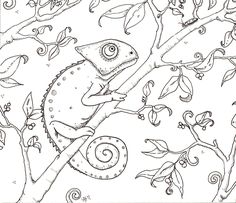 Coloring pages, Leaves and Coloring on Pinterest