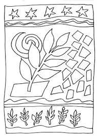 Resultado de imagem para desenhos para colorir de tarsila