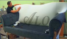 diy how to reupholster a sofa aloworld poundex montereal 2 piece and loveseat antique | i can do that! pinterest ...