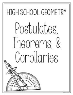 A series of six geometry projects for high school students