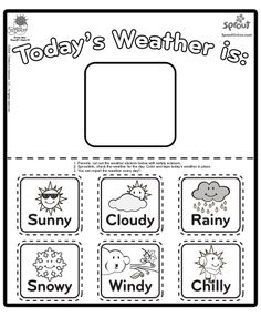 1000+ images about Seasons / Weather theme on Pinterest