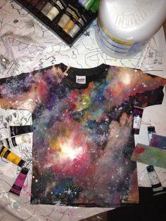 D.I.Y. Galaxy Shirt!