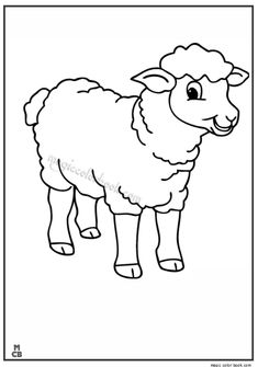 Shaun the sheep christmas coloring pages for kids