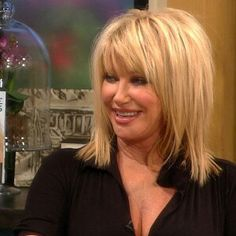Long Hairstyles Over 50 Suzanne Somers Layered Haircut