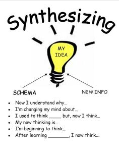 1000+ images about Reading Strategies-Synthesizing on