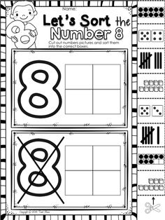 All About Me-MY BODY: Literacy & Math centers, printables