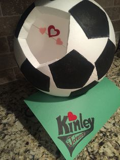 Soccer Valentines Box Crafts With The Kiddos Pinterest
