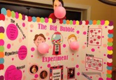 Bubble Gum Science Project Ideas