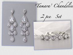 Tilly Pearl Earrings Necklace Bridal Jewelry Set By Jamjewels1 87 Our Collection Pinterest And