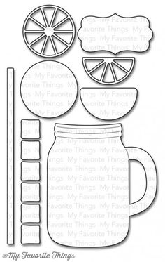 TONS of free templates, including this one for a mug card