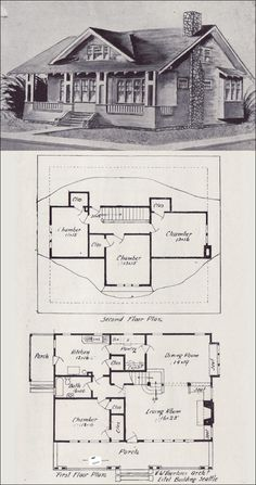 1000+ images about Historic Floor Plans on Pinterest