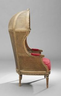 Wing chair, walnut, English, first half 17th century ...