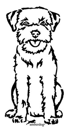 Border Terrier Coloring Page Free Printable Coloring