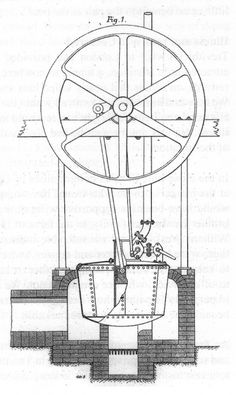 The first self-propelling steam engine or steam locomotive