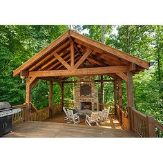 1000 images about Outdoor Fireplaces on Pinterest  Cabin