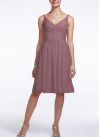 Gallery For > Rosewood Color Bridesmaid Dresses