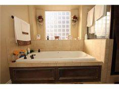 Master Bathtub Custom Paneled Front With Tile Tub Deck The