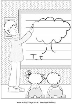 1000+ images about Back to school, dibujos para colorear