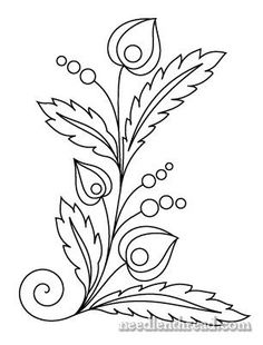 1000+ ideas about Floral Embroidery Patterns on Pinterest