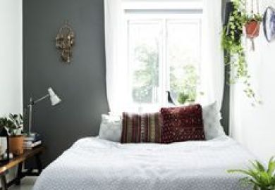 Bedroom Ideas Grey And Copper Pinterest