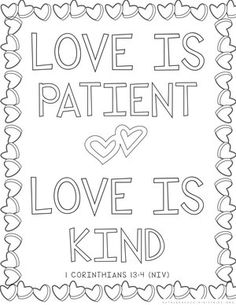 Hand-Lettered Bible Verse Coloring Sheet Printable