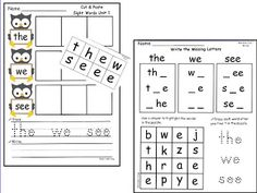 Free letter/sound assessment complete with assessment