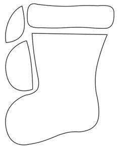 Christmas stockings, Christmas stocking pattern and