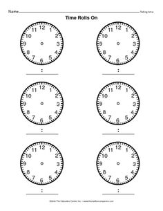 1000+ images about Telling Time by the Quarter Hour on