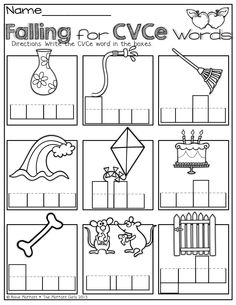 (FREEBIE) CVCe Word Family Printables Long vowels (phonics