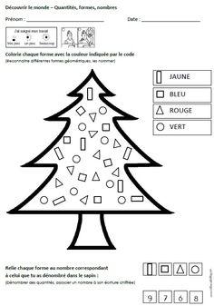 26 fiches d'exercices mathématiques pour la maternelle (PS