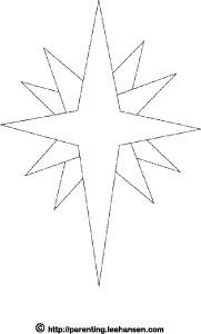 Star Template On Pinterest Quilts Applique Patterns And
